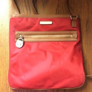 MK cross body nylon purse
